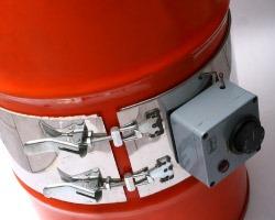 Calefactores para contenedores plásticos
